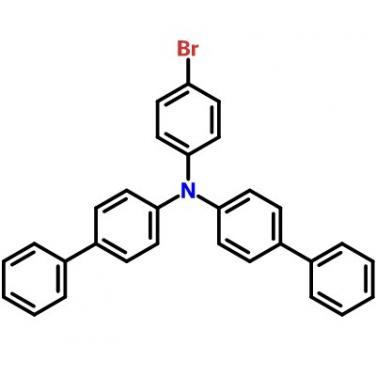 N-(4-BroMophenyl)-N,N-Bis(1,1'-Biphenyl-4-Yl)AMine, CAS 499128 -71-1, C30H22BrN