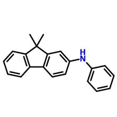 9,9-dimethyl-N-phenyl-9H-fluoren-2-amine,355832-04-1,C21H19N
