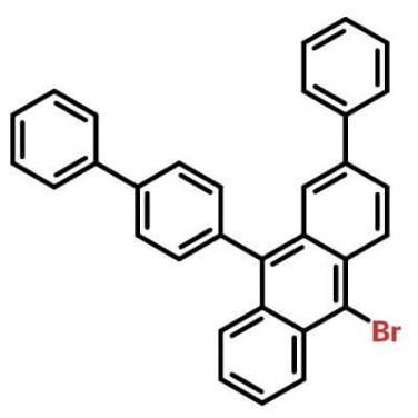 9([1,1`-biphenyl]-4-yl)-10-broMo-2-phenylanthracene,1195975-03-1,C32H21Br