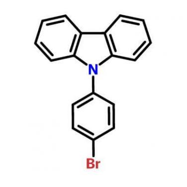 9-(4-Bromophenyl)carbazole , 57102-42-8 , C18H12BrN?