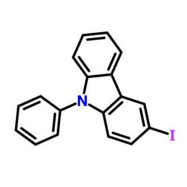 3- Iodo- N- phenylcarbazole , 502161-03-7 , C18H12IN?