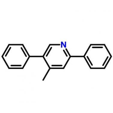 4-Methyl-2,5-diphenylpyridine,156021-08-8,C18H15N