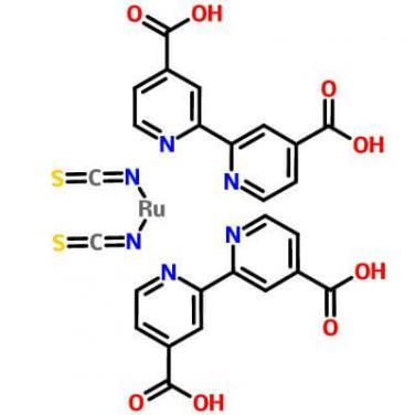 Cis-Bis(Isothiocyanato)Bis(2,2'-Bipyridyl-4,4'-Dicarboxylato)Ruthenium (II),141460-19-7,C26H16N6O8RuS2