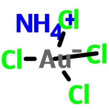 Ammonium Tetrachloroaurate(III),13874-04-9,AuCl4H4N
