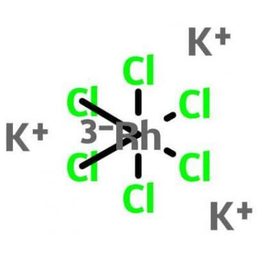 Tripotassium Hexachlororhodate,13845-07-3,K3RhCl6