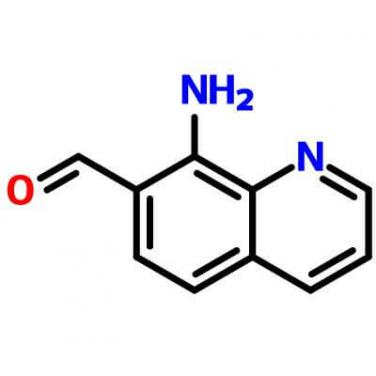 8-Aminoquinoline-7-Carbaldehyde,158753-17-4,C10H8N2O