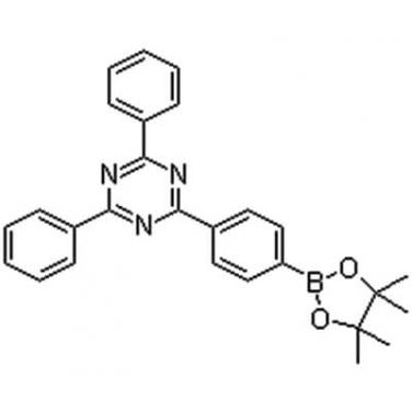 2,4-Diphenyl-6-[4-(4,4,5,5-tetramethyl-1,3,2-dioxaborolan-2-yl)phenyl]-1,3,5-triazine,1219956-23-6,C27H26BN3O2