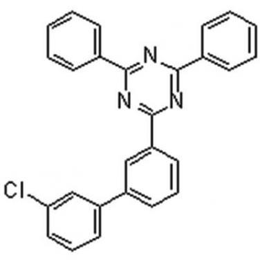 2-(3'-Chloro[1,1'-biphenyl]-3-yl)-4,6-diphenyl-1,3,5-triazine,1443049-83-9,C27H18ClN3