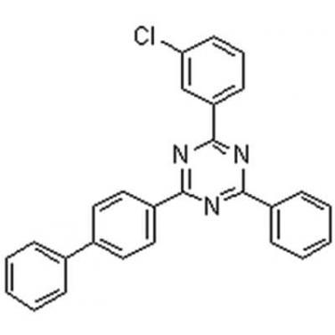 2-[1,1'-Biphenyl]-4-yl-4-(3-chlorophenyl)-6-phenyl-1,3,5-triazine,2085262-87-7,C27H18ClN3
