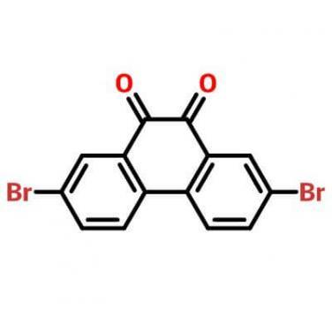 2,7-Dibromo-9,10-phenanthrenedione,84405-44-7,C14H6Br2O2