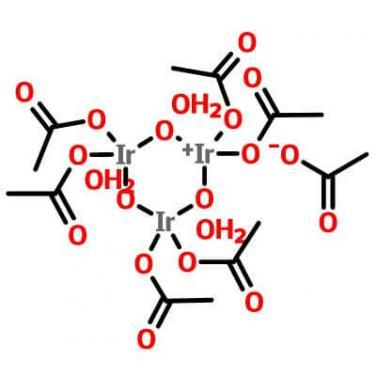 Iridium(III) Acetate,52705-52-9,C12H18Ir3O15C2H3O2