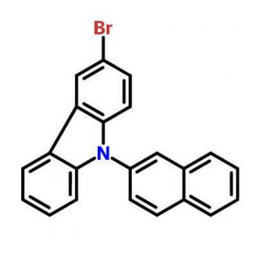 9-(2-Naphthyl)-3-BroMocarbazole , 934545-80-9 , C22H14BrN