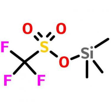 Trimethylsilyl trifluoromethanesulfonate , 27607-77-8 , C4H9F3O3SSi