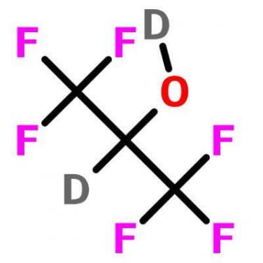 1,1,1,3,3,3- Hexafluoroisopropanol-d2 , 38701-74-5 , C3D2F6O