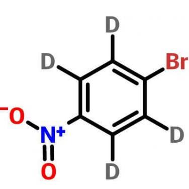 1-bromo-2,3,5,6-tetradeuterio-4-nitrobenzene , 350820-19-8 , C6BrD4NO2