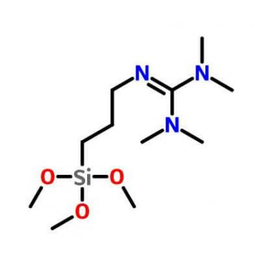 1,1,3,3-Tetramethyl-2-(3-trimethoxysilylpropyl)guanidine_69709-01-9_C11H27N3O3Si