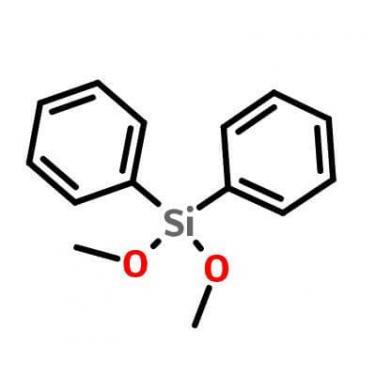 Diphenyldimethoxysilane_6843-66-9_C14H16O2Si
