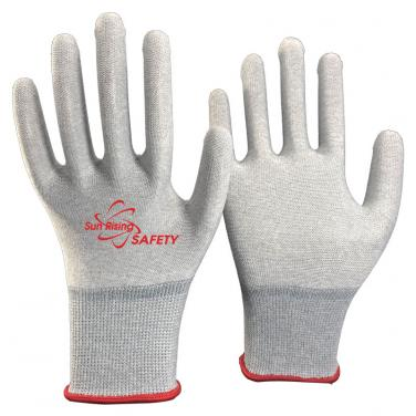 13 Gauge Nylon and Carbon Knitted Anti-static Gloves SK20.07