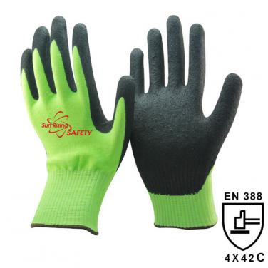 13 Gauge Cut C Liner Sandy Nitrile Palm Coated Gloves DY1350F-H