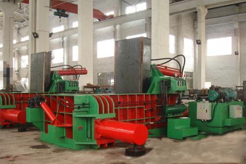 Metal Baling Machine