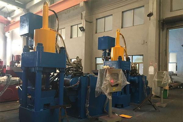 Automatic Briquetting Press