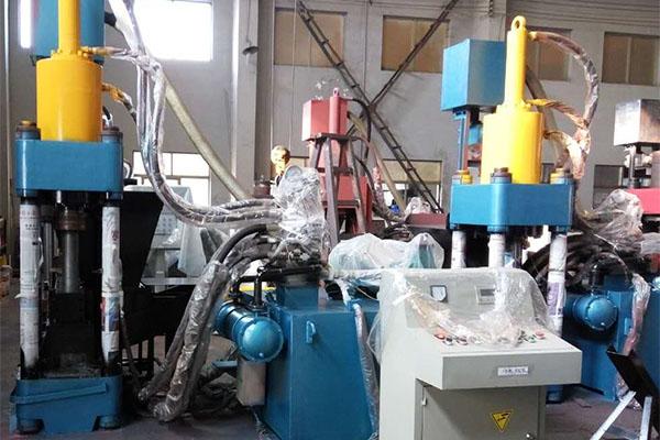 Aluminum Briquetting Press