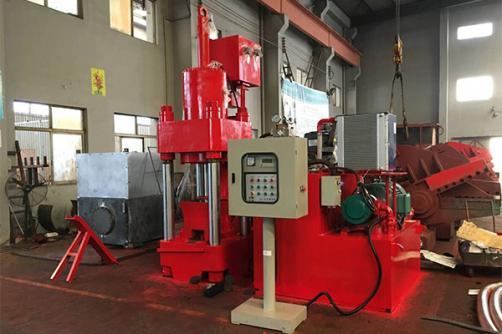 Pre-Pressing Briquetting Press