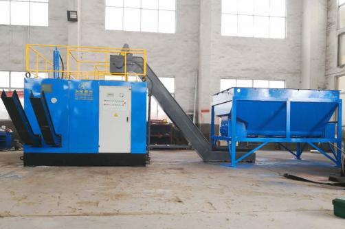Dual-Type Briquetting Press WBJ-DB50