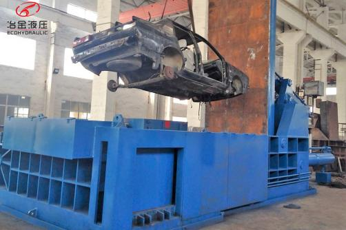 Baling Press YDT-400 Car Baler
