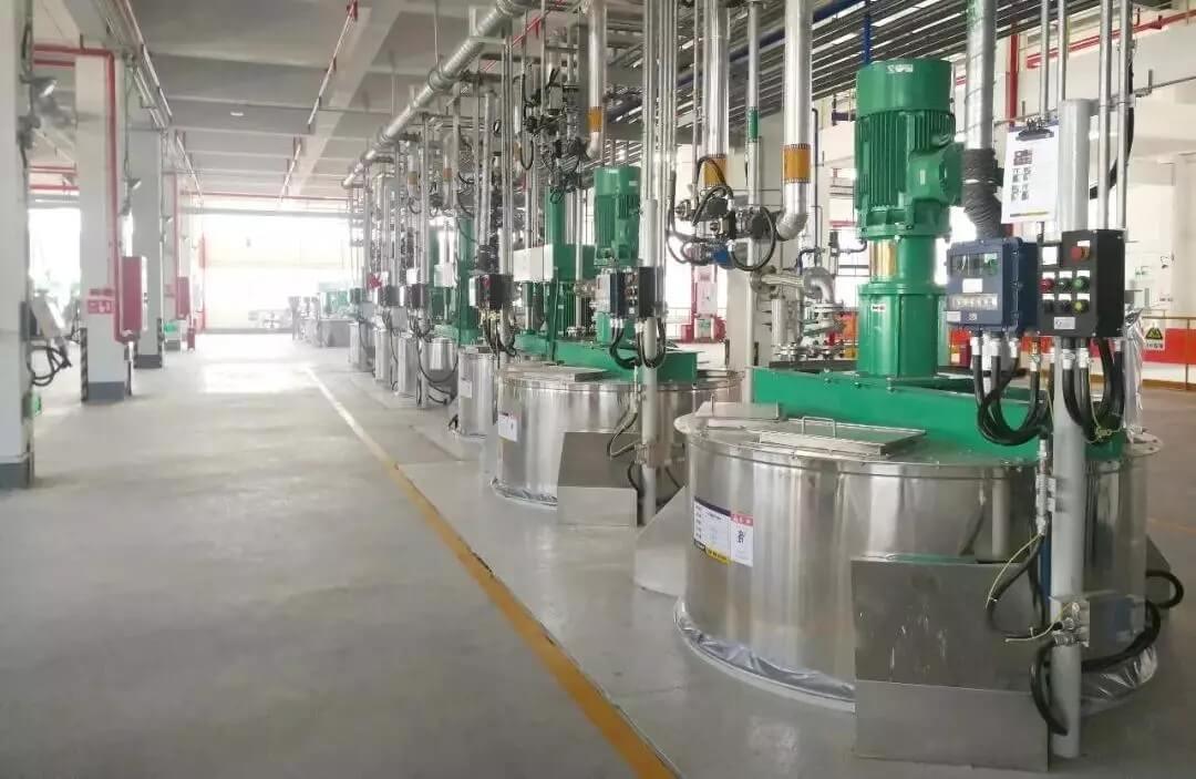 珠海展辰5萬噸工業漆生產線順利投產