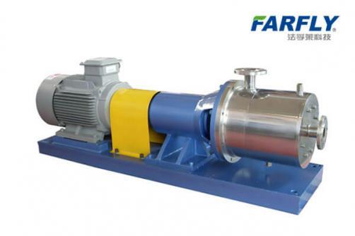 FSW3管線式高剪切分散乳化機