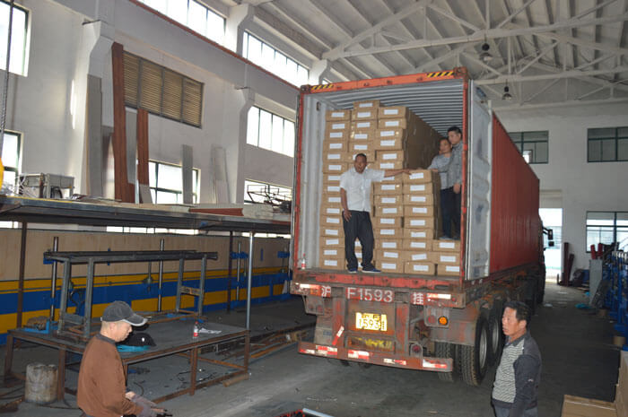 Shipping of PU sandwich wall panel