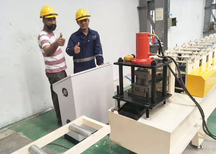 Light Gauge Machine Install Successfully In Malaysia
