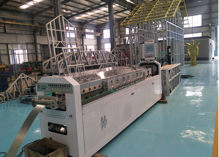 Light Gauge Steel Framing Roll Forming Machine Ship To Australia