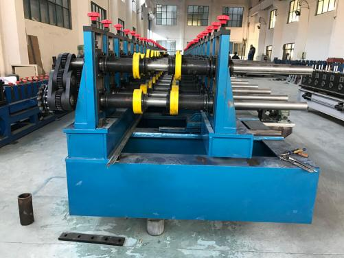 Adjustable Width Cable Bridge Frame Forming Machine