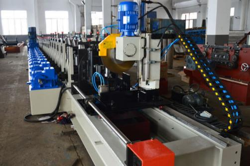 Galvanized Steel Racking Beam Rolling Machine