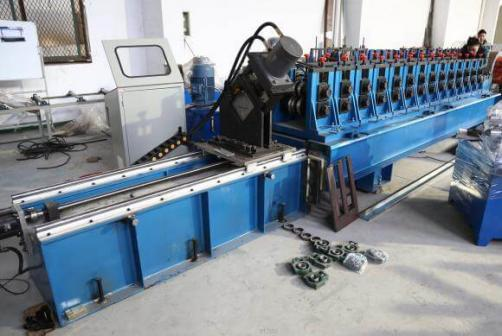 Cassette Type Cable Tray Bend Side Roll Forming Machine