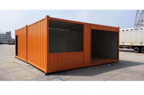Economic Prefabricated 20ft 40ft Container House