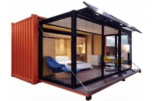 Customized 20ft 40ft Comfortable Living Container House