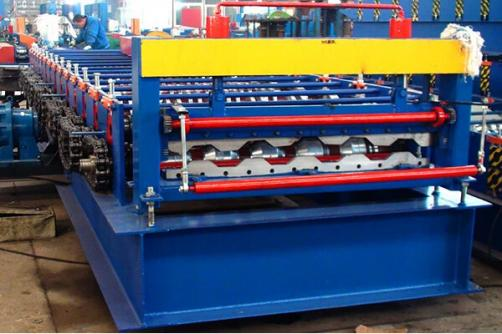 Metal Sheet Container Panel Roll Forming Machine
