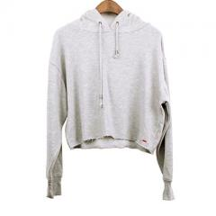Heather Grey French Terry Hoodie