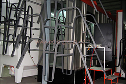 Powder Coating Line for table and chairs