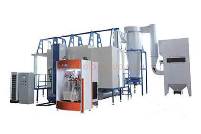 Automatic Mono Cyclone Powder Painting Spray Booth