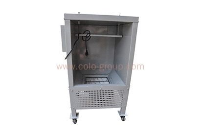 Small paint booth /lab powder painting chamber/powder spray cabinet