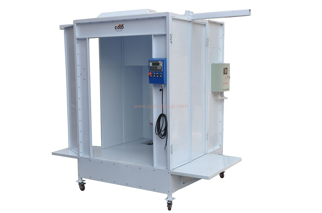 COLO-S-2152 Pass Through Spray Booth with Powder Recycling System