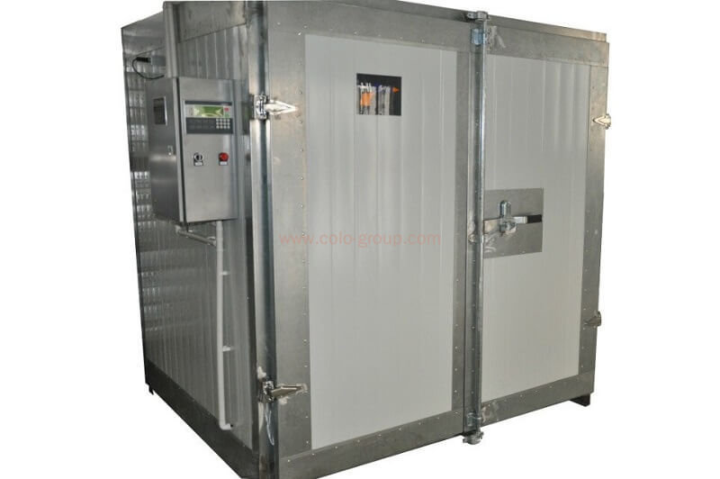 Electric powder coating batch oven