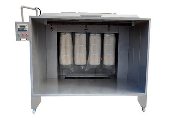 COLO-2315 Powder Coating Equipment Spray Booth with Filter Recovery System