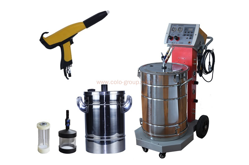COLO-668 Powder Coating Spray Gun for Different Metal Shape