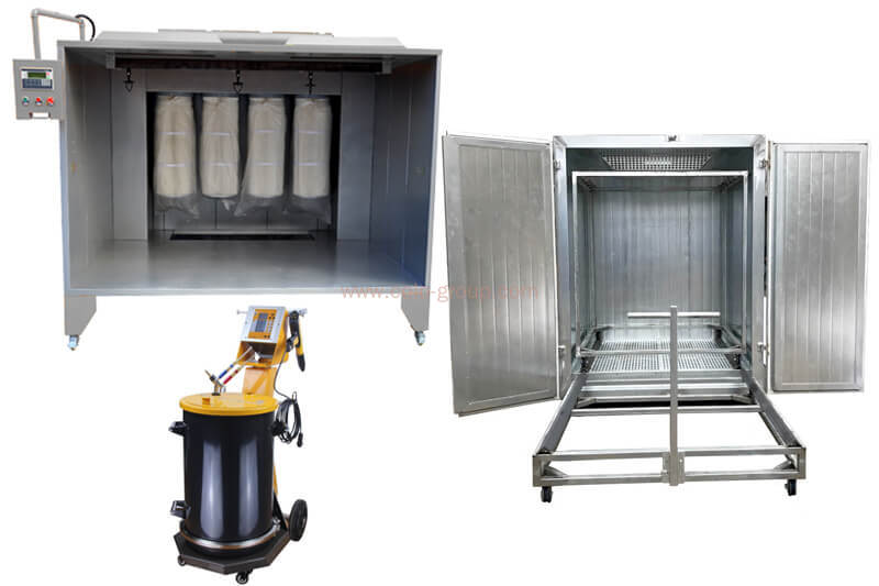 Manual Powder Coating Equipment Package