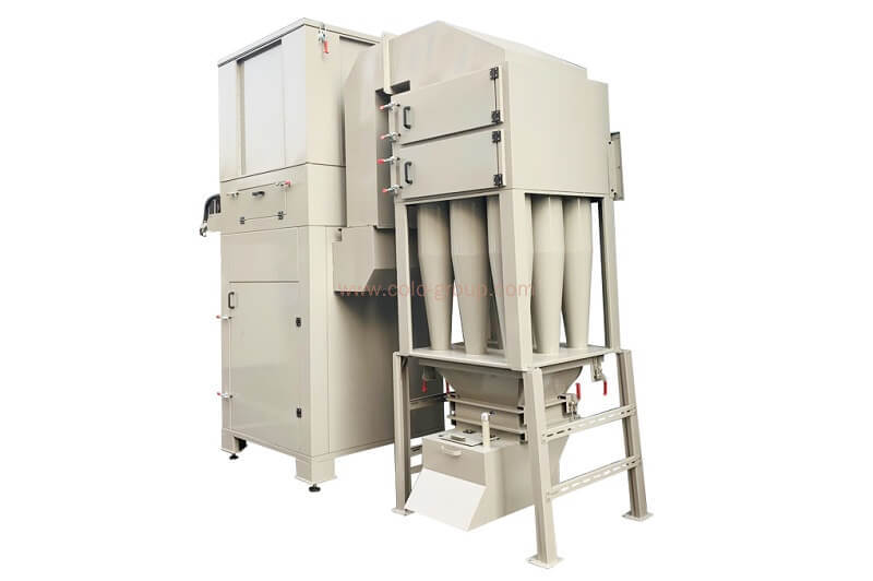 Cyclone Powder Coating Recovery System